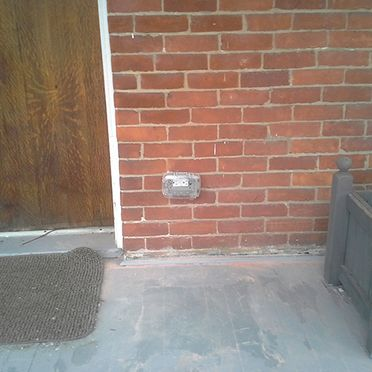 new outside receptacle
