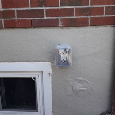 exterior electrical work